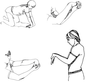 Estiramientos-brazo