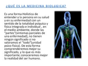 medicina biologica