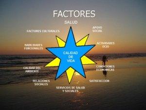 Factores Calidad de vida