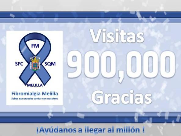 900mil visitas